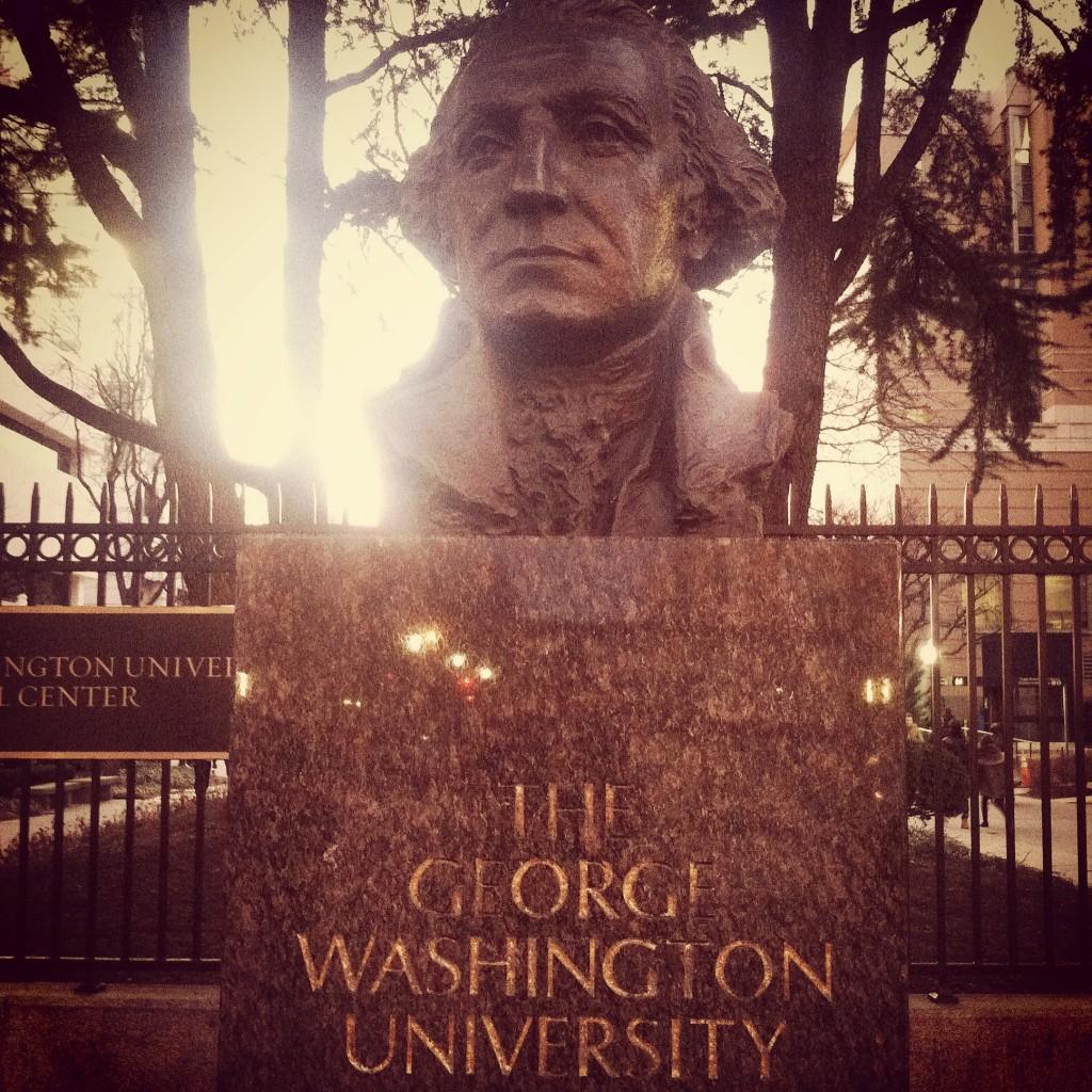 GW Statue