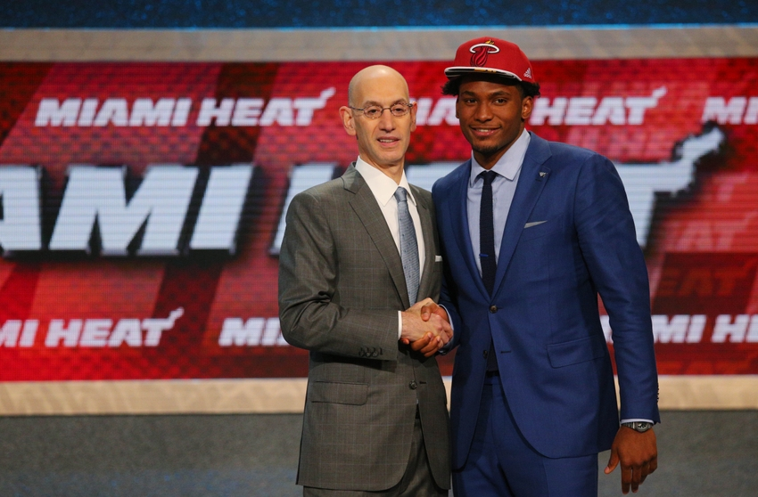 justise-winslow-adam-silver-nba-nba-draft-2015